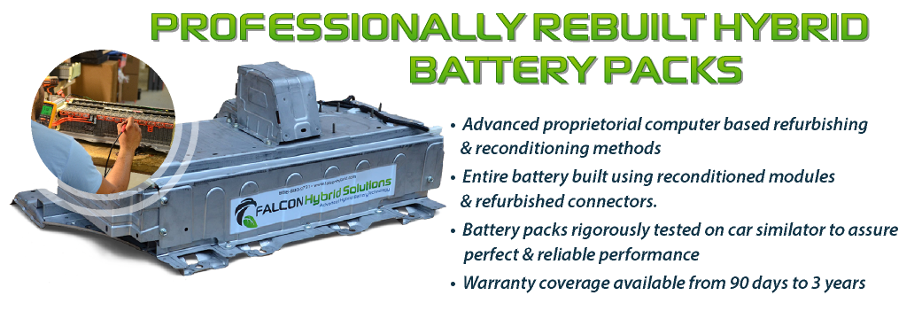 Bnr on Rebuilt Toyota Prius Battery